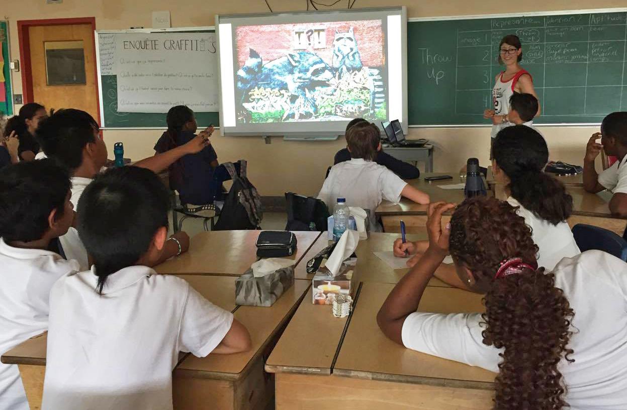 formation sur les graffitis - bilan 2017
