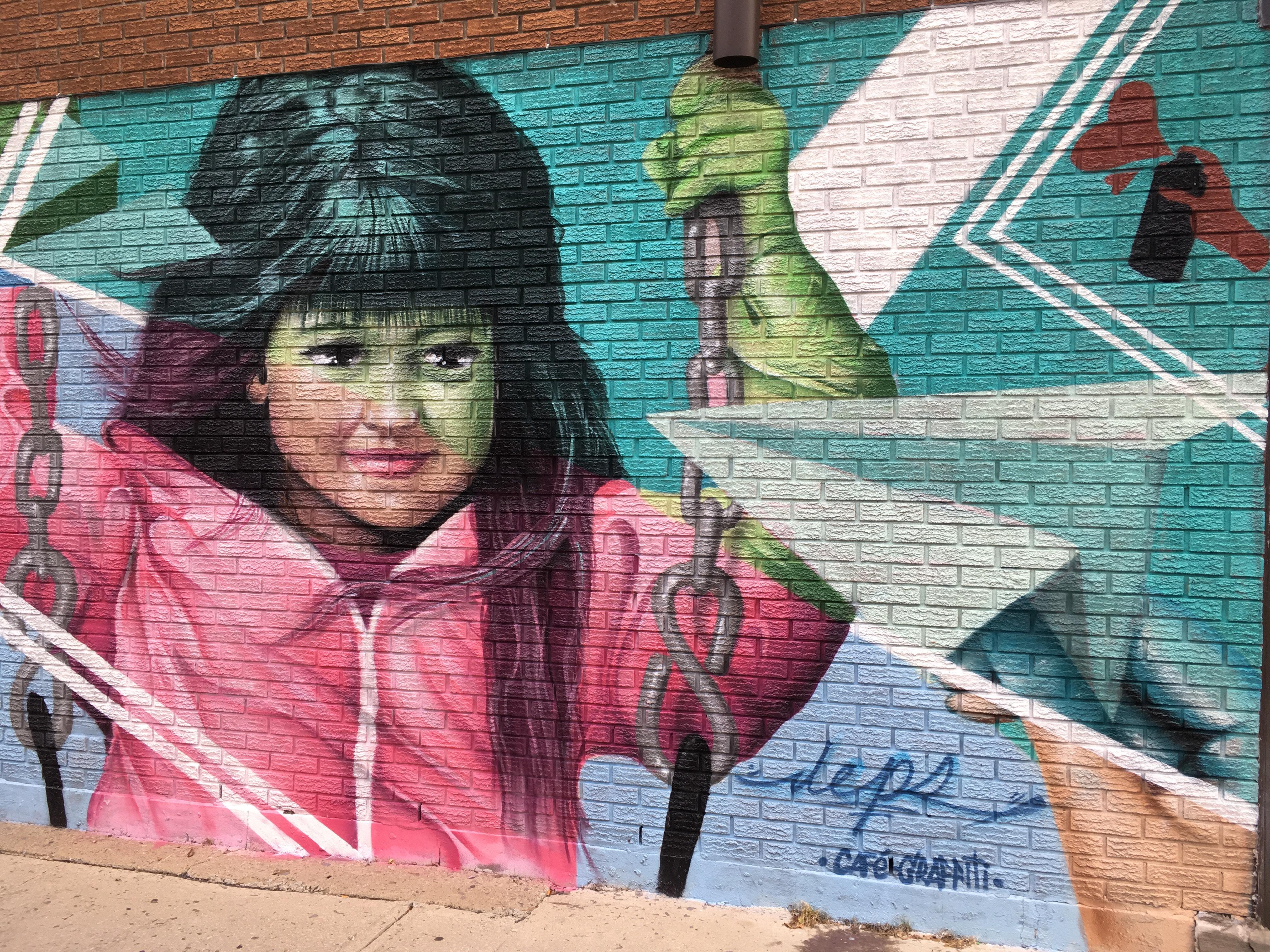 murale au Bric à Brac - bilan 2017