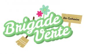 Logo brigade verte sainte-catherine